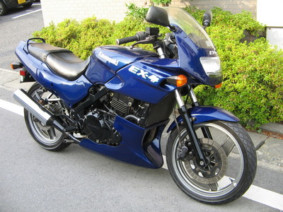 【バイク買取実績 多摩市】 KAWASAKI カワサキ EX-4の買い取り