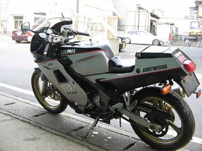 【バイク買取実績 大田区】 YAMAHA ヤマハ FZR250(2KR)の買い取り