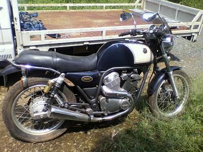 【バイク買取実績 府中市】 YAMAHA ヤマハ SRV250の買い取り