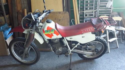 【バイク買取査定実績】 ホンダXLR BAJA(MD22)ご売却ありがとうございます