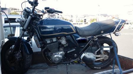 【バイク買取査定実績 春日部市】 ZRX400-2の出張査定