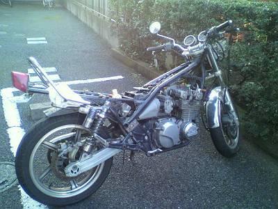 【バイク買取実績 戸田市】 KAWASAKI カワサキ ゼファー400の買い取り